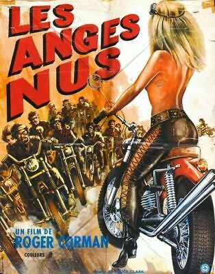The Naked Angels 02 Vintage B-Movie Reproduction Art Print A4 A3 A2 A1