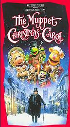 The Muppet Christmas Carol (VHS, 1993) Childrens Kids Charles Dickens Holiday