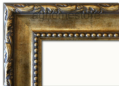 Ornate Picture Frames Silver & Light Gold for Oil Painting, Photo or Poster Arts