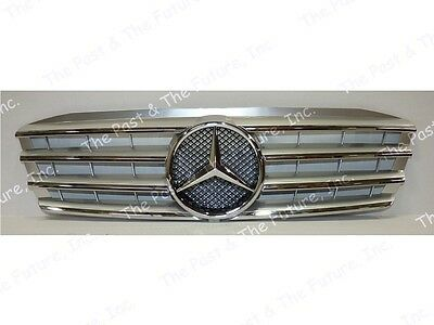 2000 00 01 02 03 04 05 06 07 Mercedes Benz C Class W203 CL Grille Silver Grill