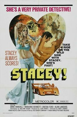 Stacey 01 Vintage Classic B-Movie Reproduction Art Print A4 A3 A2 A1