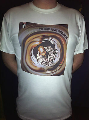 ISAAC HAYES MOVEMENT T-SHIRT 60s 70s Soul Funk Disco Sly Family Stone Parliament