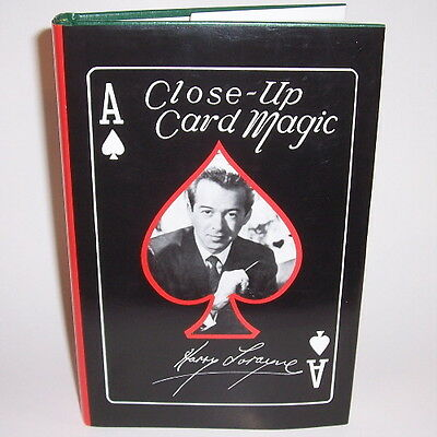 NEW Close Up Card Magic by Harry Lorayne - How To Book
