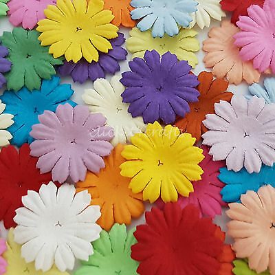 500 Paper Flowers Scrapbook Cardmaking Birthday Party Art Craft Supply P70-427