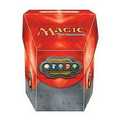 Red Deck Box - Porta Mazzo Rosso COMMANDER MTG MAGIC Ultra Pro