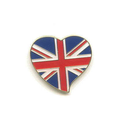 Königreich Großbritannien Heart Badge London Herz Button Pin Pins Anstecker 0549