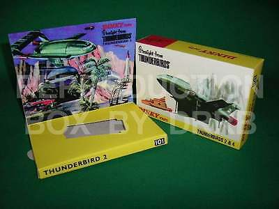 Dinky #101 Thunderbird 2 (&4) - Reproduction Box by DRRB
