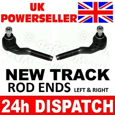 Peugeot 406 1995-04 LEFT + RIGHT Steering Tie Track Rod Ends (2)