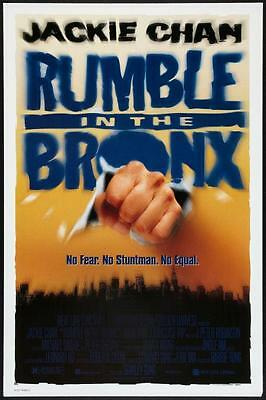 RUMBLE IN THE BRONX - D/S 27x40 Original Movie Poster One Sheet JACKIE CHAN 1995