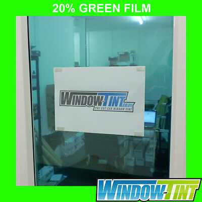 GREEN CAR WINDOW TINT FILM (20%) - 75cm x 3m