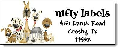 Gone To The Dogs #36 Laser Return Address Labels