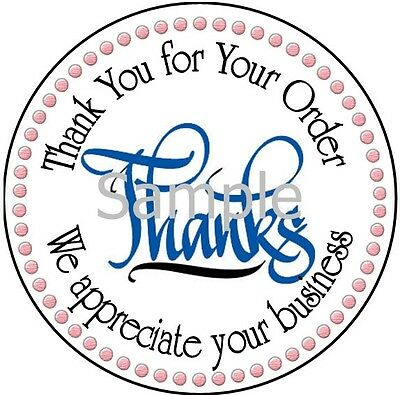 Stylish Thank You - Dsr #7 Thank You Laser Labels