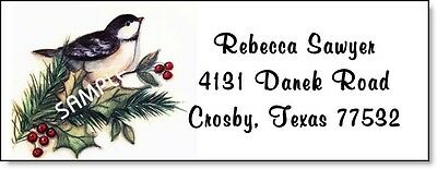 Beautiful Bird #34 Laser Return Address Labels