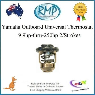 A Brand New Thermostat Suits Yamaha Outboards 3hp-thru-250hp # R 6E5-12411-02