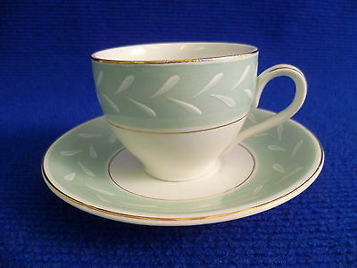 BURLEIGH WARE WINDSOR COFFEE CUPS AND SAUCERS