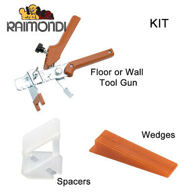 Raimondi Tile Spacer Leveling System - Variety of Kits Wedges or Spacers
