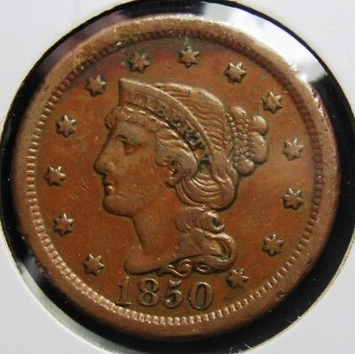 1850 United States Large Cent, Ships for Free, lc3