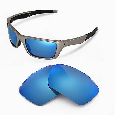 c8116689d8 New Walleva Polarized Ice Blue Replacement Lenses For Oakley Jury Sunglasses