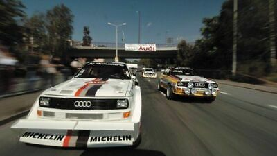 1009 Picture Poster Print Art A0 A1 A2 A3 A4 AUDI SPORT QUATTRO S1 RALLY