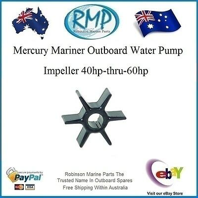A Brand New Mercury Mariner Water Pump Impeller 50hp-thru-60hp # R 47-19453
