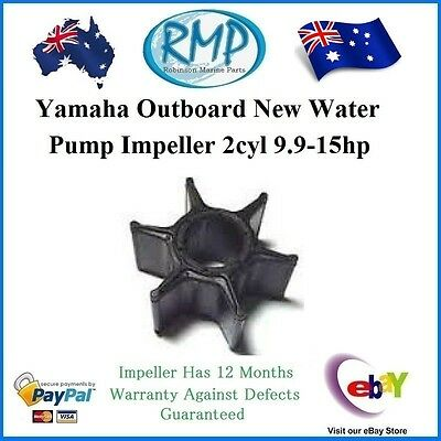 A Brand New Water Pump Impeller Yamaha Outboard 2cyl 9.9hp-15hp # R 682-44352-01