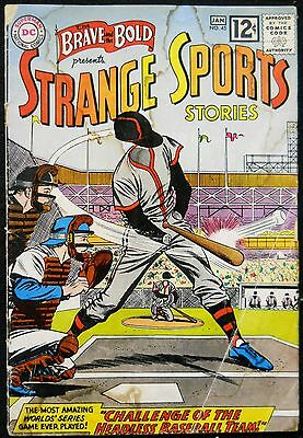 Brave And The Bold #45 Gd Strange Sports Stories Infantino