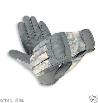 Military Airsoft Tactical Combat Hard Knuckle Shooting Gloves*ACU, Black, OD,Tan