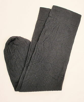 Lots of 6/10/24 PAIRS-Woman Knee High Trouser Socks-Narrow Rib-Size M 9-11 Black