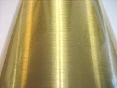 Gold Brushed Sign Plotter Cutter Vinyl Roll