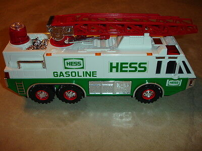 MINT 1996 Hess Gasoline Emergency Truck Toy  With Original Box