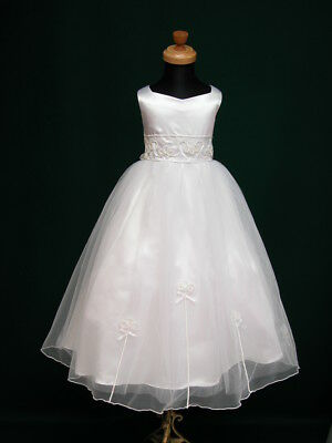 New Isabel Flowergirl Flower Girl Holy Communion Bridesmaid Wedding Dress 3-10