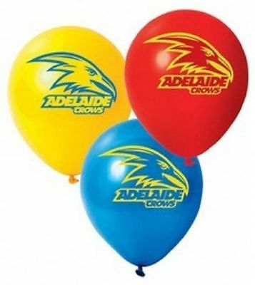 1 x ADELAIDE CROWS AFL TEAM  LATEX BALLOON  28CM  NEW!
