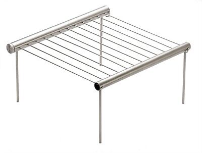 Grilliput Duo Barbeque - Portable, Compact, Pocket Sized Stainless Steel BBQ