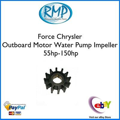 A Brand New Force Chrysler Outboard Water Pump Impeller 55hp-150hp # 47-F84065