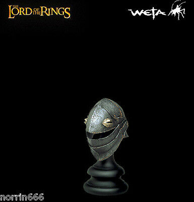 LORD OF THE RINGS ORC CROWFACED casco 1:4 Sideshow