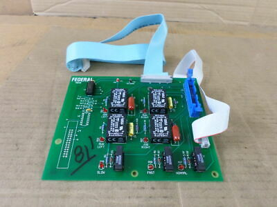 Federal Products Co. EPC 01838 Rev. B EAS-2746 B9C Speed Control Board