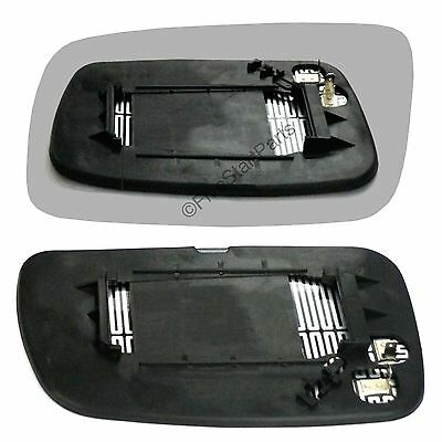 Left Passenger side Convex Wing mirror glass for Toyota Corolla 2005-09 Heated