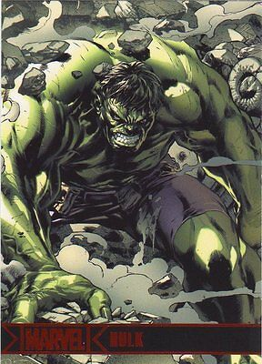 MINT MARVEL GREATEST HEROES 2012 BASE CARD #38 HULK