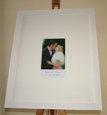 Wedding Guest Book Signing Frame Personalised