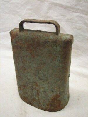 Antique Cow Bell Farm Tool Football Noise Maker Musical Instrument