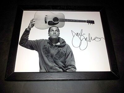 "Jack Johnson Pp Signed & Framed 10""x8"" Inch Photo Repro Folk"