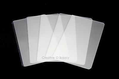 "5 Mil Business Card Laminating Pouches 2-1/4"" X 3-3/4""  200 Pcs Laminator Sleeve"