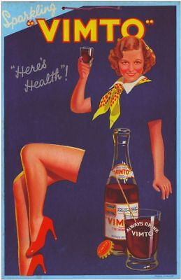 Vintage Vimto Advertising A3 Poster Reprint