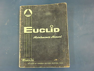 euclid v 71 v71 gm detroit diesel engine maintenance service manual rh picclick com Detroit Diesel Engines free detroit diesel v71 service manual