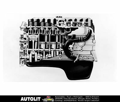 1993 Jeep Grand Cherokee 4.0 Liter High Output I6 Engine Factory Photo