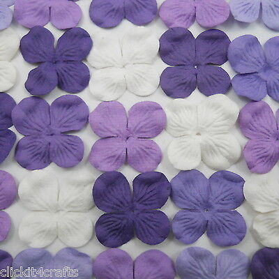 100 Paper Flowers Scrapbook Cardmaking Home Decor Party Art Craft Supply ZP9-601