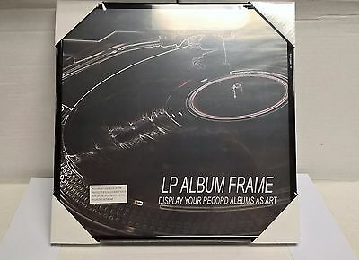 LOT OF (6) RECORD ALBUM FRAMES NEW in wrap. FREE SHIP