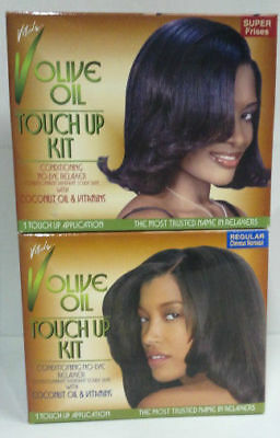 [Vitale] Olive Oil Conditioning No-Lye Relaxer 1 Touch Up Application Kit