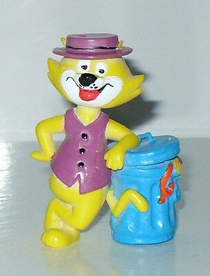 FIGURINE RETRO PVC HANNA BARBERA MINILAND 1991 THE TOP CAT (7x5cm)