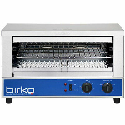 Birko 15 Amp Wide Mouth Commercial Toaster Grill Quartz 1002002